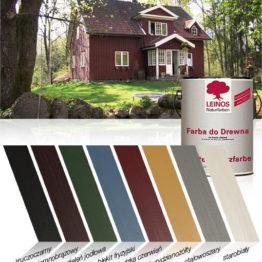Farba do Drewna na bazie oleju naturalnego