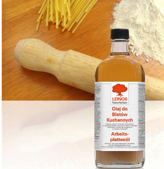 Olej twardy do blatów kuchennych