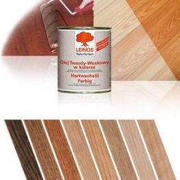 olej twardy woskowy